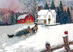 christmas in the country poster - Christmas In The Country