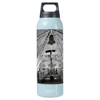 Christmas in the Hospital Ward World War Two Insulated Water Bottle
