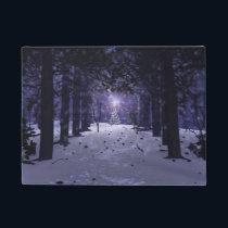 Christmas in the Pines Doormat