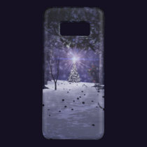 Christmas in the Pines Galaxy Case