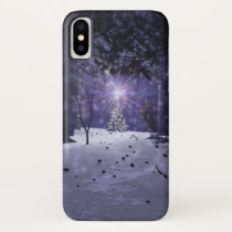 Christmas in the Pines iPhone Case-Mate