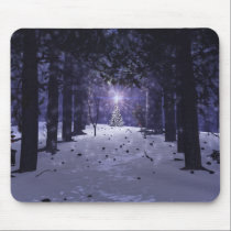 Christmas in the Pines Mousepad