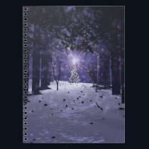 Christmas in the Pines Notebook