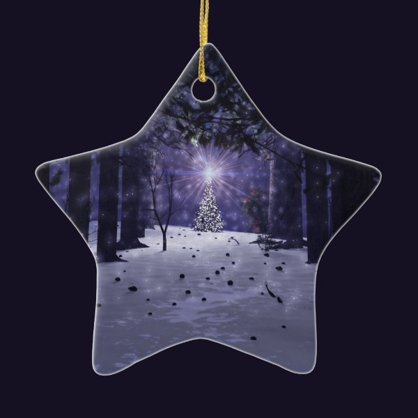 Christmas in the Pines Ornament