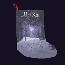 Christmas in the Pines Stocking