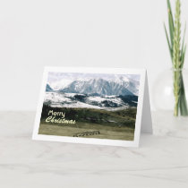 Christmas in the Rockies, Montana Holiday Card