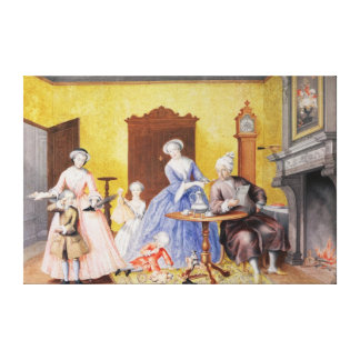 Christmas in the Royal household of Empress Stretched Canvas Prints