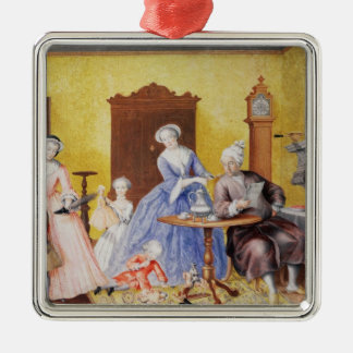 Christmas in the Royal household of Empress Metal Ornament