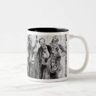 Christmas in the Servant's Hall Two-Tone Coffee Mug