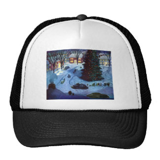 Christmas in the Town Square Trucker Hat