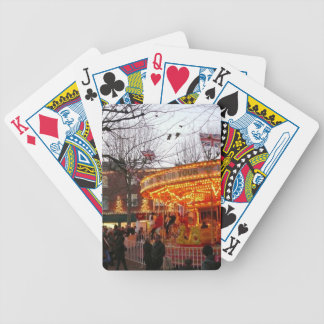 Christmas in York Bicycle Playing Cards