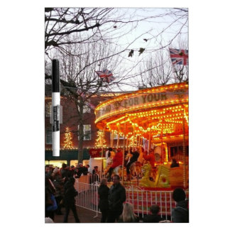 Christmas in York Dry Erase Board