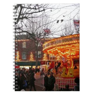 Christmas in York Spiral Notebook