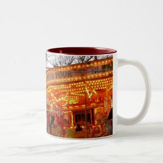 Christmas in York Two-Tone Coffee Mug