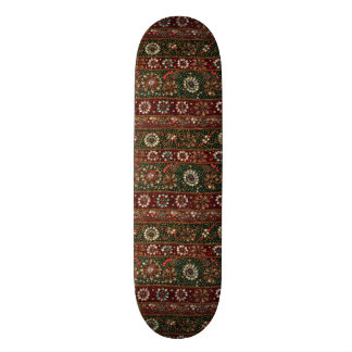 Christmas India Indian Textile Embroidery Bling Skateboard Deck