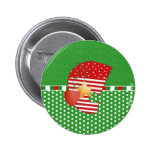 Christmas Initial C Buttons