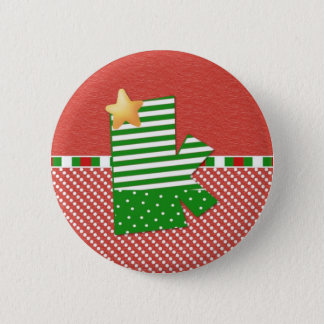 Christmas Initial K Button