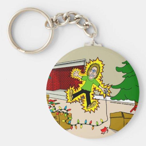 Christmas Injuries Keychain