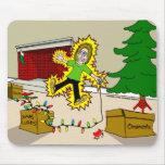 Christmas Injuries mousepad