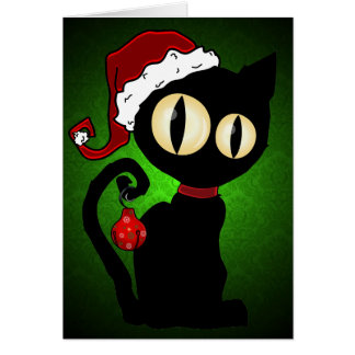 'Christmas Inkblot' Card