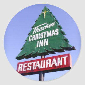 Christmas Inn Sticker