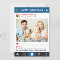 Christmas Instagram Frame Holiday Greetings Photo