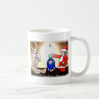 Christmas Interrogation Coffee Mug