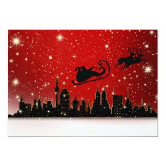 "Christmas 5"" X 7"" Invitation Card"
