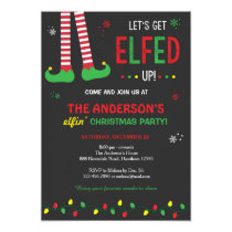 Christmas Invitation / Let's Get Elfed Up