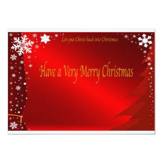 Christmas Invitations. Card