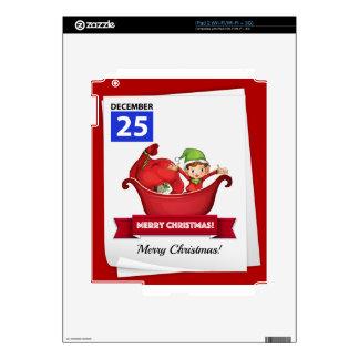 Christmas iPad 2 Skin