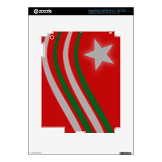 Christmas iPad 3 Decal