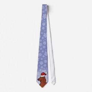 Christmas Irish / English / Gordon / R&W Setter Tie