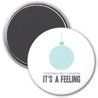 Christmas is a Feeling   Blue Magnet