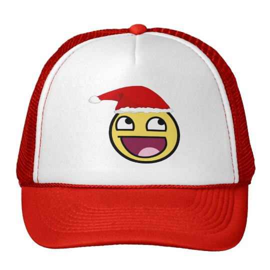 Christmas is Awesome Trucker Hat