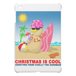 Christmas is cool, greeting from coolly the sandma iPad mini covers