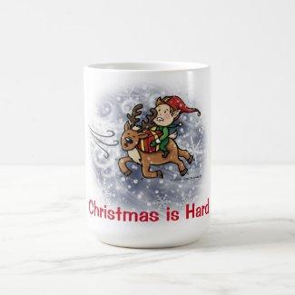 Christmas is Hard - Ernie and Ralph Blizzard Mug