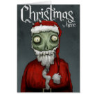 Christmas is here card