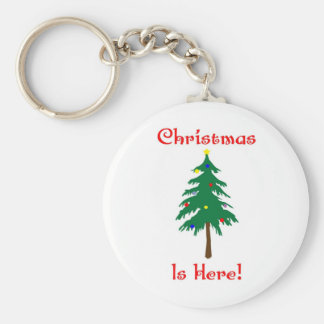 Christmas Is Here Keychain