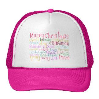 Christmas Is Here Trucker Hat