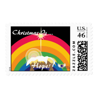Christmas Is Hope-Customize Postage Stamps