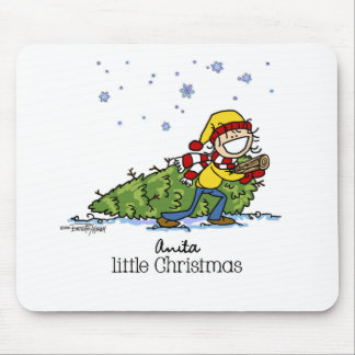 Christmas is in the Air Mouse Pad