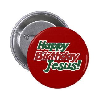 Christmas is Jesus Birthday Pinback Buttons