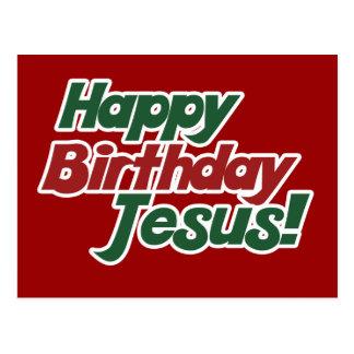 Christmas is Jesus Birthday Postcard