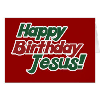Christmas is Jesus Birthday Stationery Note Card