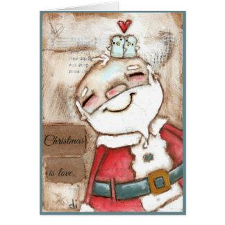 Christmas is Love - Christmas Card