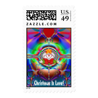 Christmas Is Love! Postage