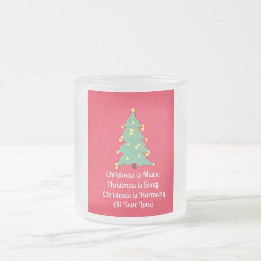 Christmas is Music.... Coffee Mug