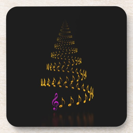 Christmas is music coasters