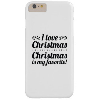 Christmas Is My Favorite Barely There iPhone 6 Plus Case